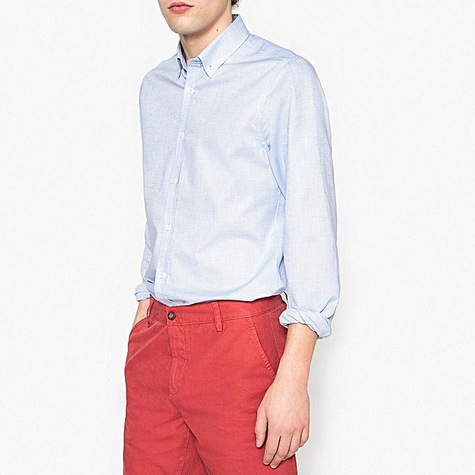 LA rougeOUTE Chemise – Blanc à prix pas cher
