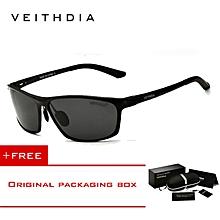 fcceb4fd0 VEITHDIA Polarized Aluminum Magnesium Wrap Mens Sun Glasses Male Sport  Outdoor Sunglasses Mirror Eyewear For Men