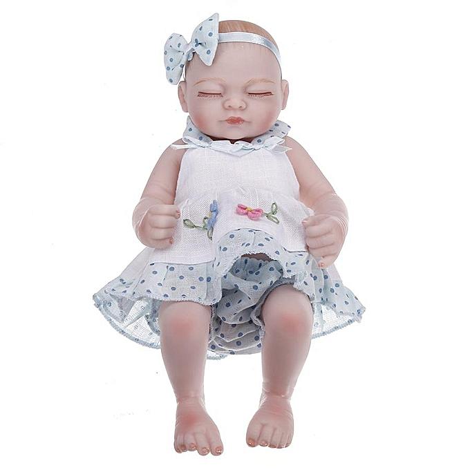 OEM NPK 10 Inch 26cm Twins Reborn Baby Soft Silicone Doll Handmade Lifelike Baby Girl Dolls Play House Toys Birthday Gift à prix pas cher