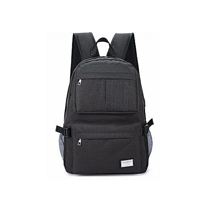 Generic Multifunction Student Laptop sac à dos Slim Computer sac Water-resistant  sac à dos with USB Charging Port Fits à prix pas cher