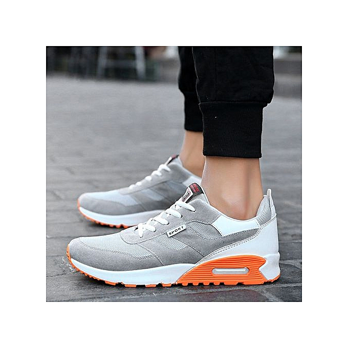 Fashion Featurouge Men's Casual Travel chaussures Fashion Low Ankle Lace-up Sport chaussures à prix pas cher