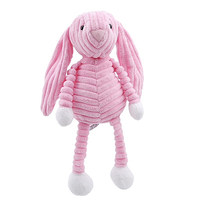 Autre nouveau   Elephant Lion Fox Rabbit Pig Panda Duck Monkey Soft Stuffed Toys Cute Torest Animal Plush Toy For Enfants(rose rabbit) à prix pas cher