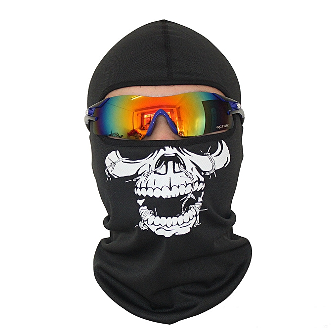 Autre SCCJLG Cycling Face Masks Balaclava Skull Wicking Headgear Sports Bike Bicycle Riding Hat Head Scarf Cycling Full Face Mask( CS-4) à prix pas cher