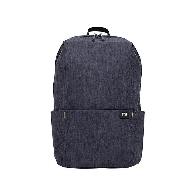 Other 2019 nouveau Xiaomi Couleurful Mini sac à dos sac 8 Couleurs Level 4 imperméable 10L capacité 165g Weight YKK Zip de plein air mijia intelligent Life(noir) à prix pas cher