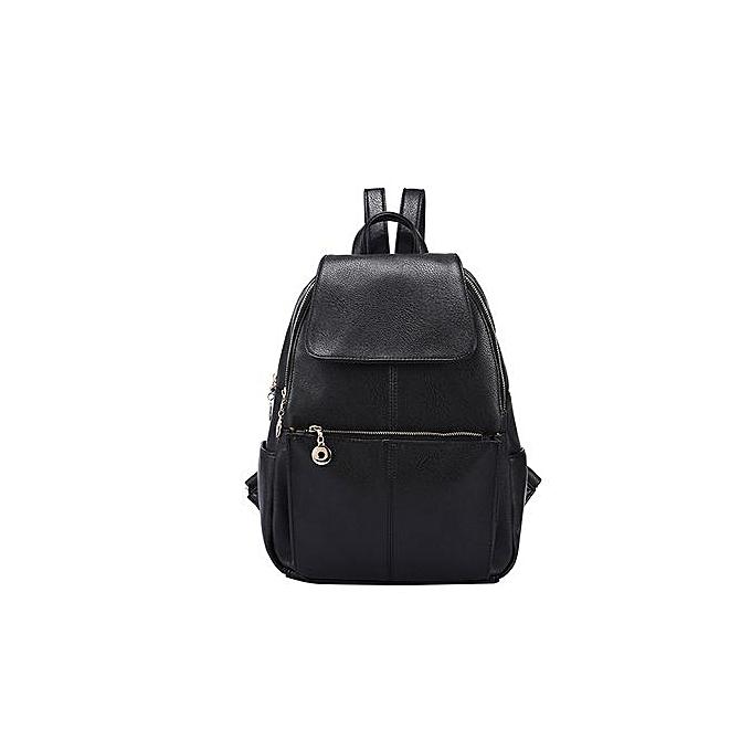 Generic Tectores mode Accessories sac à dos Girl Student noir sac à dos voyage England College sac à dos à prix pas cher