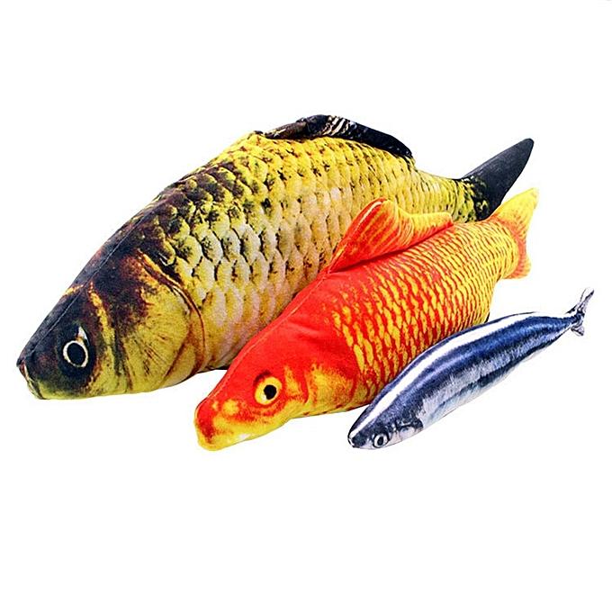Autre drôle Simulation voiturep Plush Toy Stuffed Catnip Fish Plush Stuffed Animal Toys High quality Plush(A) à prix pas cher