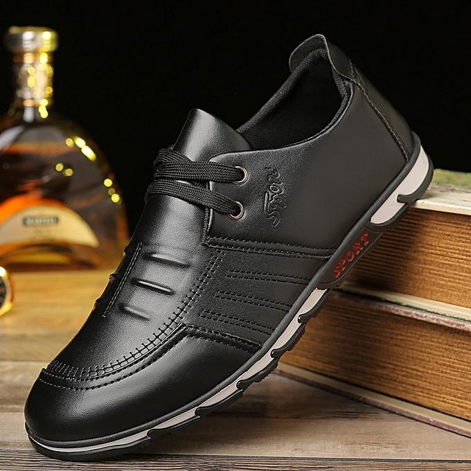 Autre Spring  's Leisure Black Leather Shoes à prix pas pas prix cher  | Jumia Maroc 7164c4
