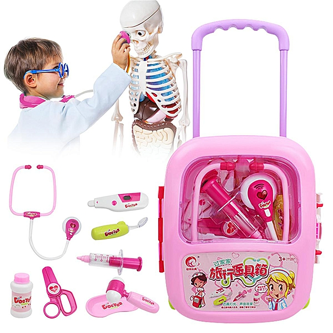 OEM 8Pcs Medical Set Kit Toys Easy voiturery Case Doctor Pretend Nurse Role Play for Ch à prix pas cher