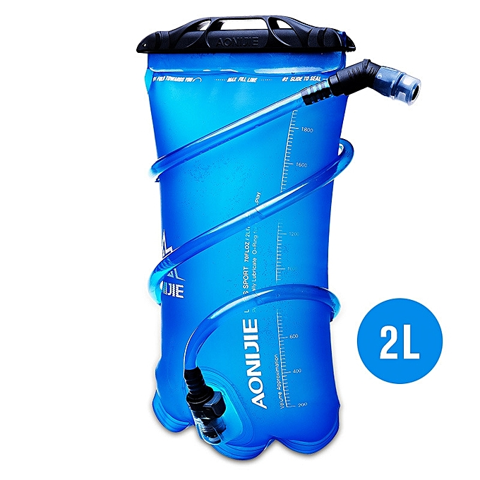 AONIJIE AONIJIE 1.5L 2L Drinking Water Bladder Bag Sports Folding TPU Hydration Pack For Running Climbing à prix pas cher