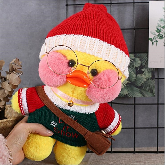 Autre 30cm Korean Netrouge Hyaluronic Acid Little jaune Duck Doll Ducks Lalafanfan  Ducks Plush Toys Ducks Dolls Birthday Gift Girls(8) à prix pas cher