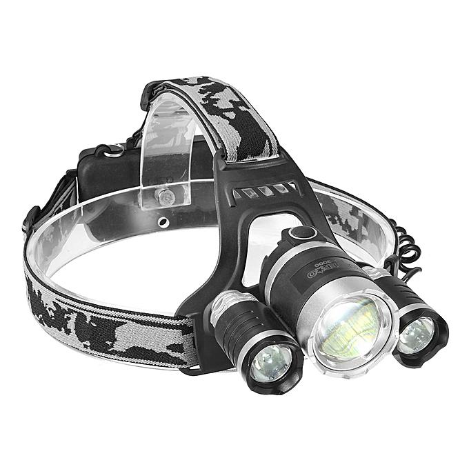 UNIVERSAL OUTERDO LED Headlamp Headlight 4 mode Adjustable Zoomable Waterproof Flashlight à prix pas cher