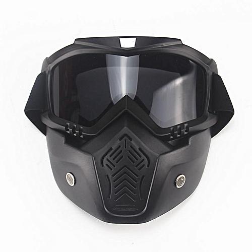 General Moto Visage Masque Lunettes Motocross Moto Moteur Amovible