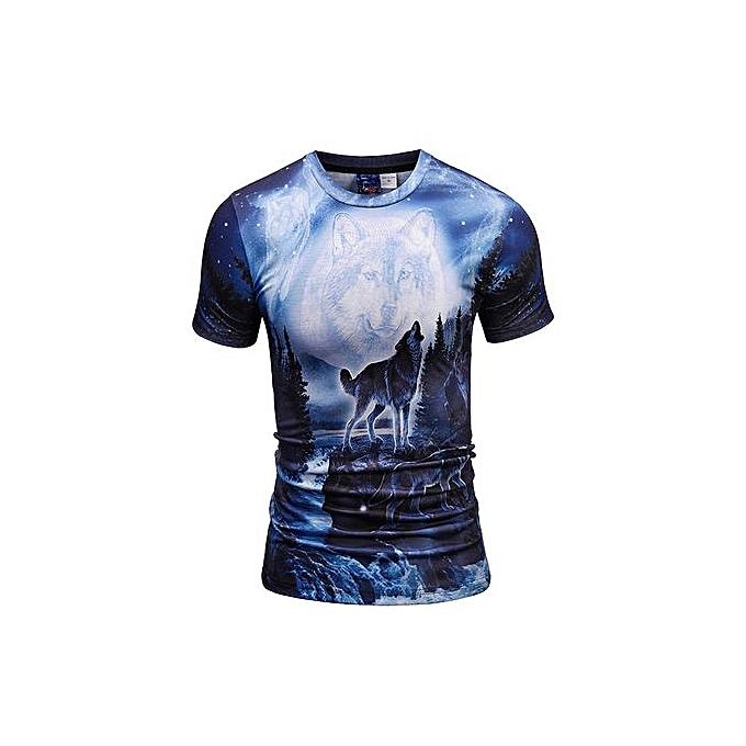 AFankara T Shirt For Men-Multi à prix pas cher