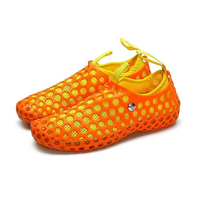 Fashion Fashion Men femmes Hollow Out Mesh Multifunction Sandals Couple Beach Slipper chaussures-EU à prix pas cher