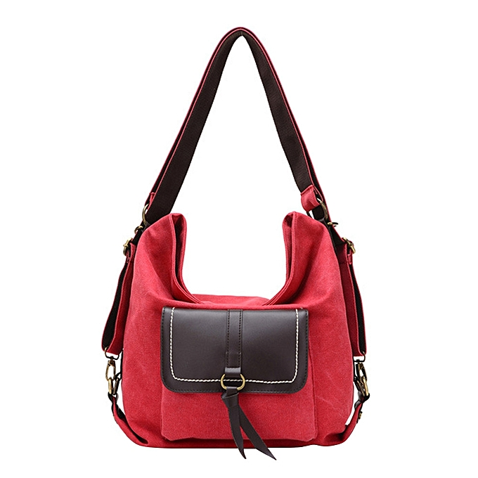 Fashion New ladies shoulder bag leisure Messenger bag canvas multi-purpose backpack RD à prix pas cher