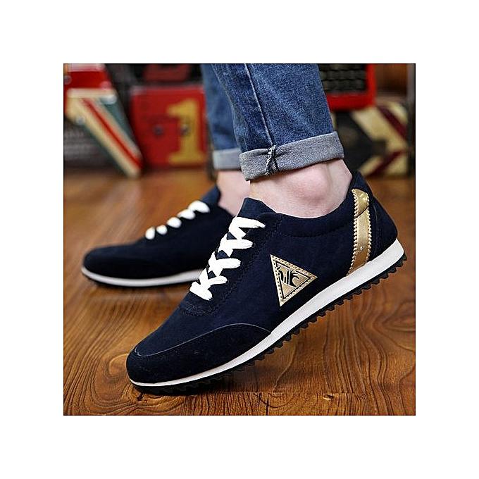 OEM FonctionneHommest chaussures hommes chaussures hommes tide British chaussures hommes spbague and été Décontracté chaussures-bleu à prix pas cher
