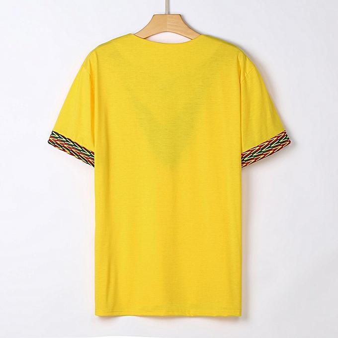 mode mode Hommes& 039;s Slim Fit V Neck Printed Muscle Tee T-shirt Décontracté hauts chemisier à prix pas cher