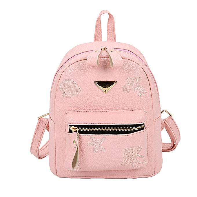 OEM femmes Girl School Bag Travel Small Backpack Satchel Shoulder Rucksack Backpack à prix pas cher