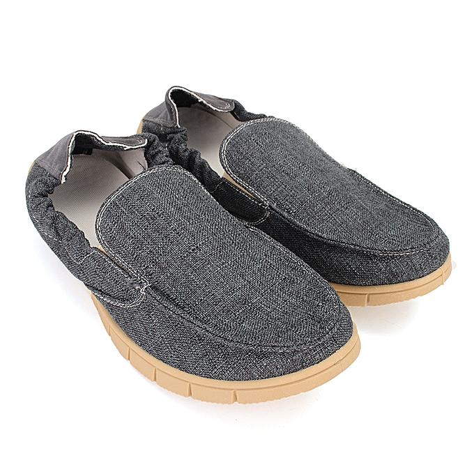 Fashion YJP Light-weight Linen Loafers, Light bleu Light gris bleu Breathable Driving Flats, Men's Slip-On Hemp chaussures, Men's Summer Flat à prix pas cher    Jumia Maroc