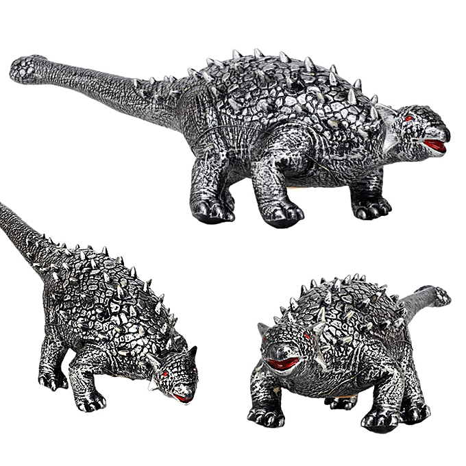 Generic grand Soft Foam Rubber Stuffed Dinosaur Toy Animals Figures With Sound à prix pas cher
