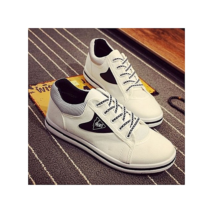 Other Summer Men's Sports chaussures Breathable Casual Canvas blanc chaussures à prix pas cher