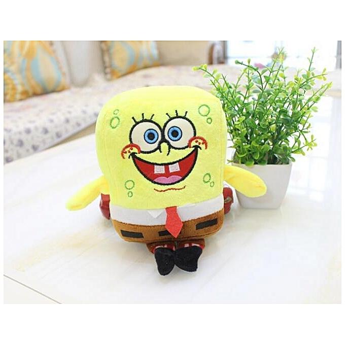 Autre sponge bob 20cm spongebob plush toy soft anime cosplay doll for Enfants toys voituretoon figure cushion home decoration cute dolls toy(23 cm spongebob) à prix pas cher