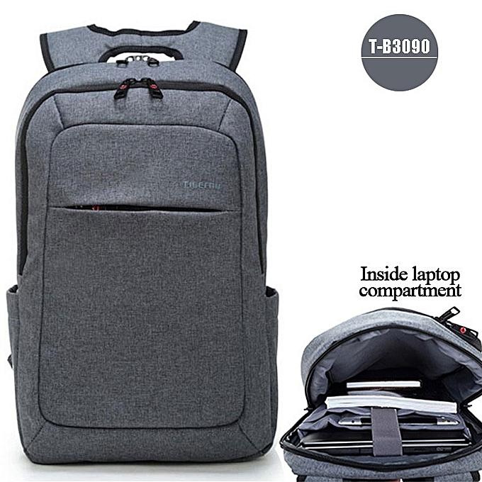 OEM nouveau Anti theft Hommes's Affaires Daily laptop sac à dos gris à prix pas cher