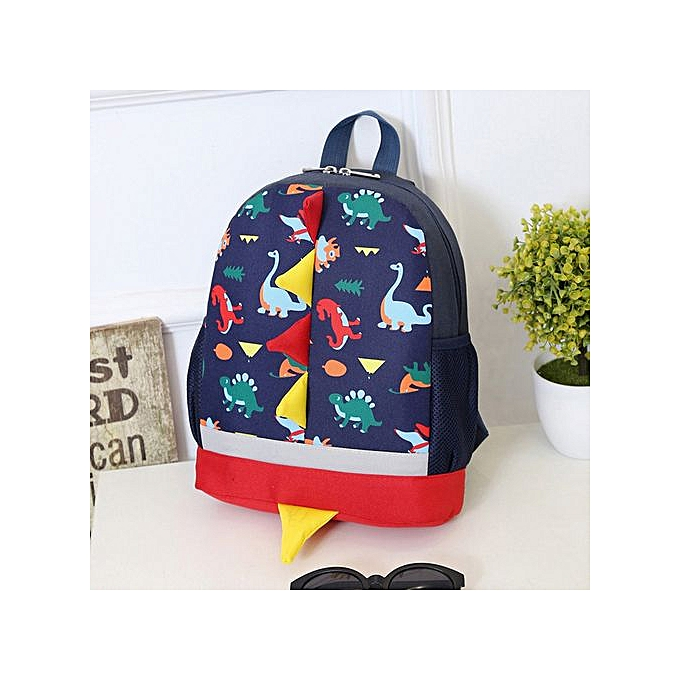 Generic Tectores Baby Boys Girls Kids Dinosaur Pattern Animals Backpack Toddler School Bag à prix pas cher