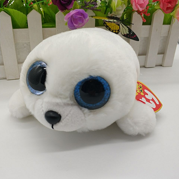 Autre Ty beanie boos collection Icy Pierre Seal Plush Toy Big Eyed Stuffed Animal Doll Girls' Gift Kids Toy Couple Doll Christmas(icy) à prix pas cher