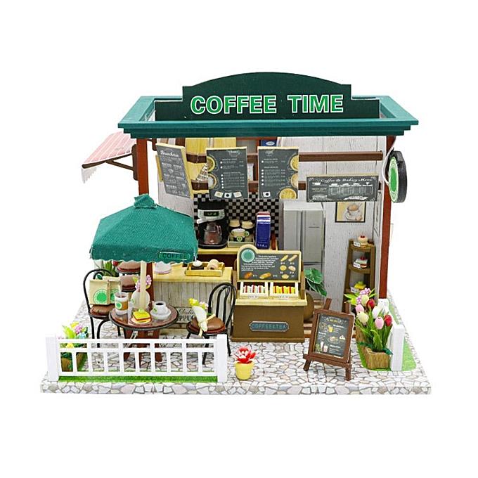 Autre P & amp; L Music Box DIY Modèle En Bois Miniature Maison De Poupée Meubles À La Main Cadeau Jouet à prix pas cher