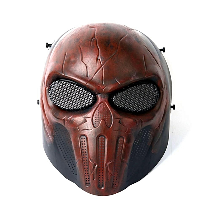UNIVERSAL Tactical Airsoftsports Paintball Halloween Prougeective CS Field Game Cosplay Full Face Mask à prix pas cher