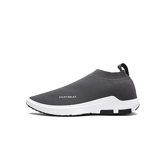 HT  s Slip-on à Breathable Casual Shoes-Grey à Slip-on prix pas cher  | Jumia Maroc e5fe9c