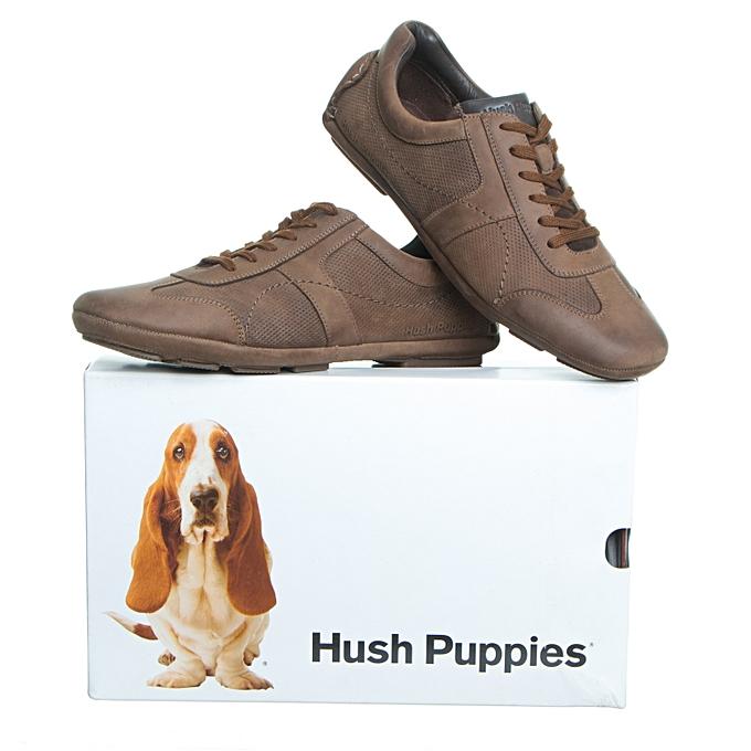 Hush Puppies paniers Billy Monaco - Cuir   Marron à prix pas cher