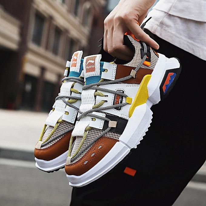 Fashion Sports chaussures hommes mesh breathable platform chaussures bleu à prix pas cher    Jumia Maroc