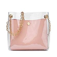 bbb5f6fd99098 Tectores Women Fashion Solid Shoulder Bag Messenger Bag Crossbody Bag Phone  Coin Bag PK