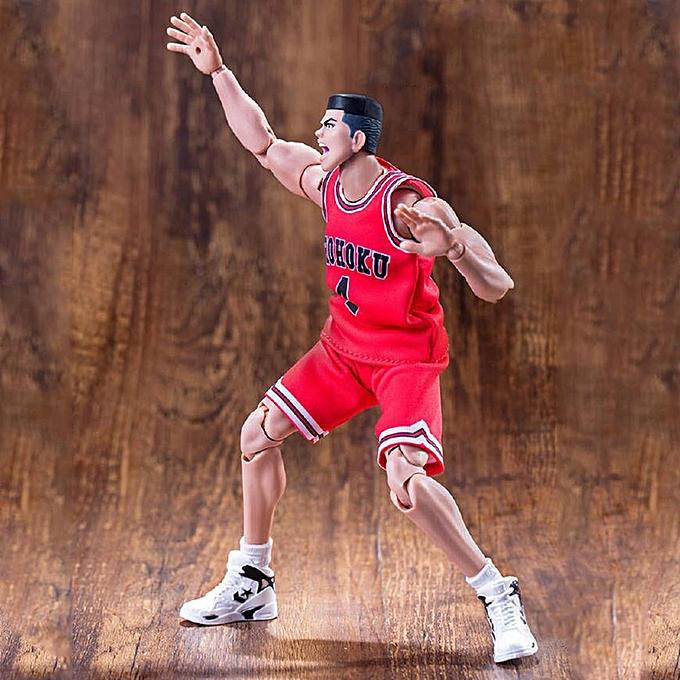 OEM Dasheng Slam Dunk 1 10 NO.4 Akagi Takenori Figurine Modèle Basketball Bricolage à prix pas cher