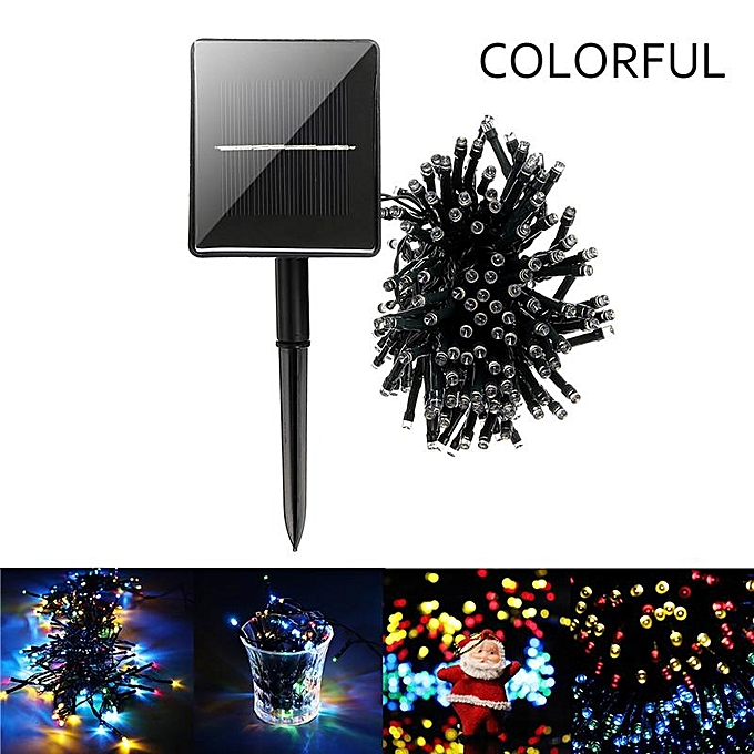 UNIVERSAL 200LED Solar Fairy String Lights Xmas Party Wedding Garden Wedding Decor à prix pas cher