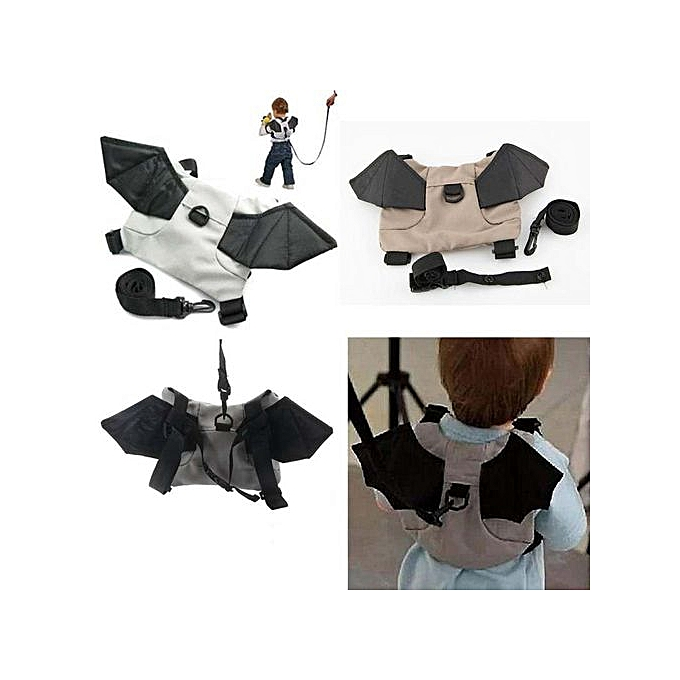 Generic Osvoiture Store Durable   Mother Activity Supplies   Enfants Toddler Bat en marchant Safety Harness Rein sac à dos Walker Buddy Strap à prix pas cher