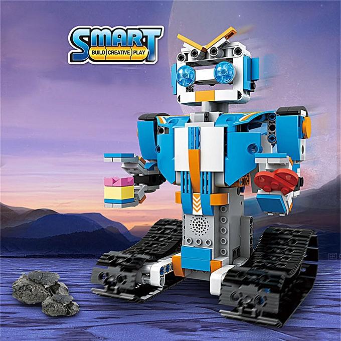Generic DIY Building Blocks en marchant RC intelligent Robot Electronic Robot STEM Toy for Enfants à prix pas cher