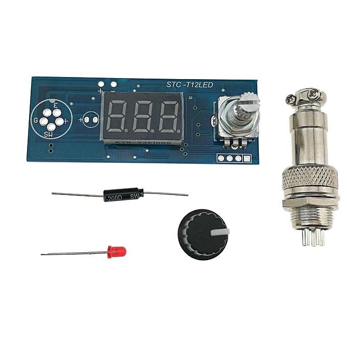 UNIVERSAL KSGER T12 STC LED Electric Unit Digital Soldering Iron Station Temperature Controller DIY Kit for HAKKO T12 LED Vibration Switch à prix pas cher