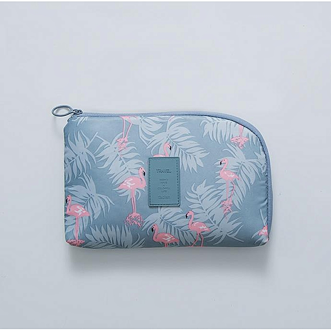 Other Travel Bag Electronic Digital Storage Package Mobile Phone Charging Treasure Data Line Organizer Travel Accessories DX-41(Flamingo) à prix pas cher