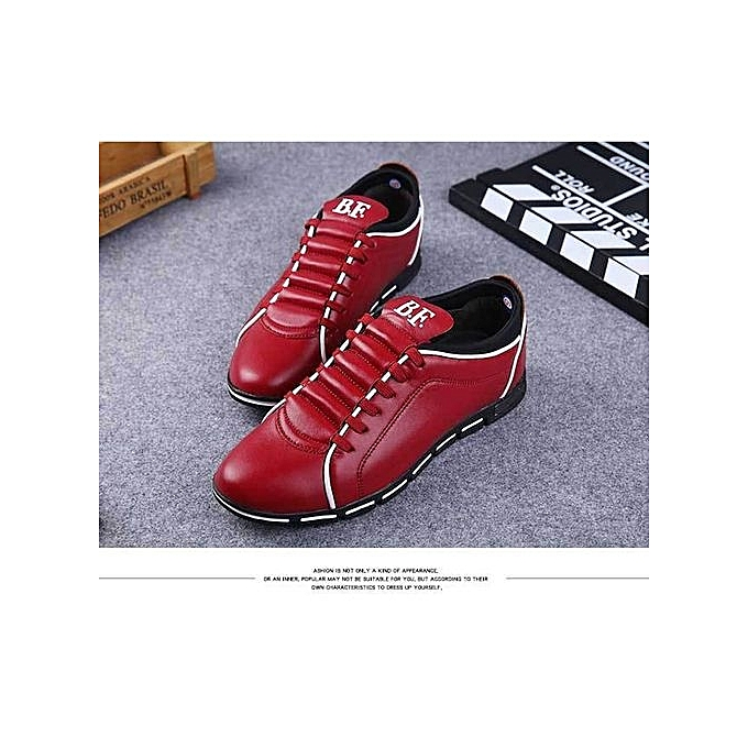 Yingwoo New Item: British LEDather Arrival  's  Genuine LEDather British Driving Shoes ComfortabLED LEDather Shoes Best Gift For  -Rouge  à prix pas cher  | Jumia Maroc 3d5f05