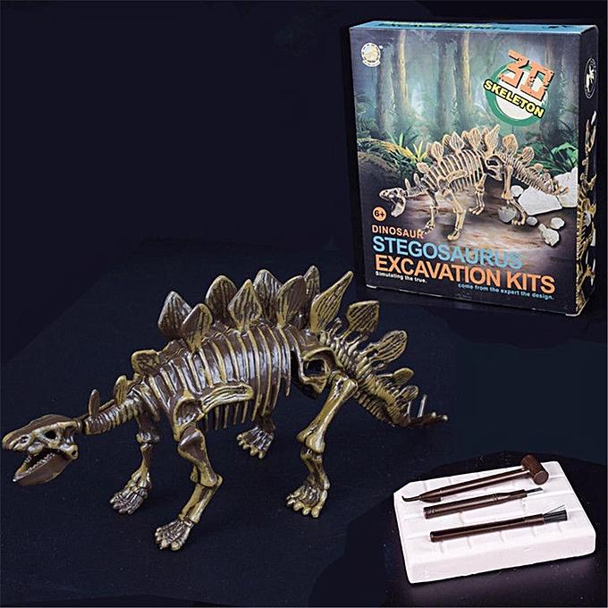 OEM Dinosaure Digging Kit Science Enfants Excavation Education Mammouth Squelette 3D Jouet à prix pas cher