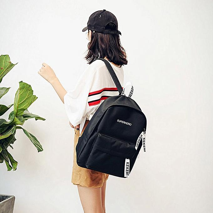 OEM femmes Girls mode Letter Print Preppy Style School sac voyage sac à dos sac à prix pas cher
