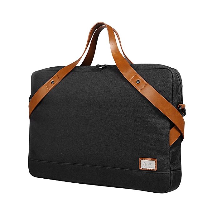 Other Portable Waterproof Shoulder Bag for 14 15 inch Laptop Briefcase Fashion Business Men Handbags Crossbody Bag with Shoulder Strap(noir) à prix pas cher
