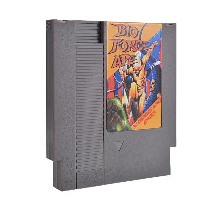 UNIVERSAL Bio Force Ape 72 Pin 8 Bit Game Card Cartridge à prix pas cher