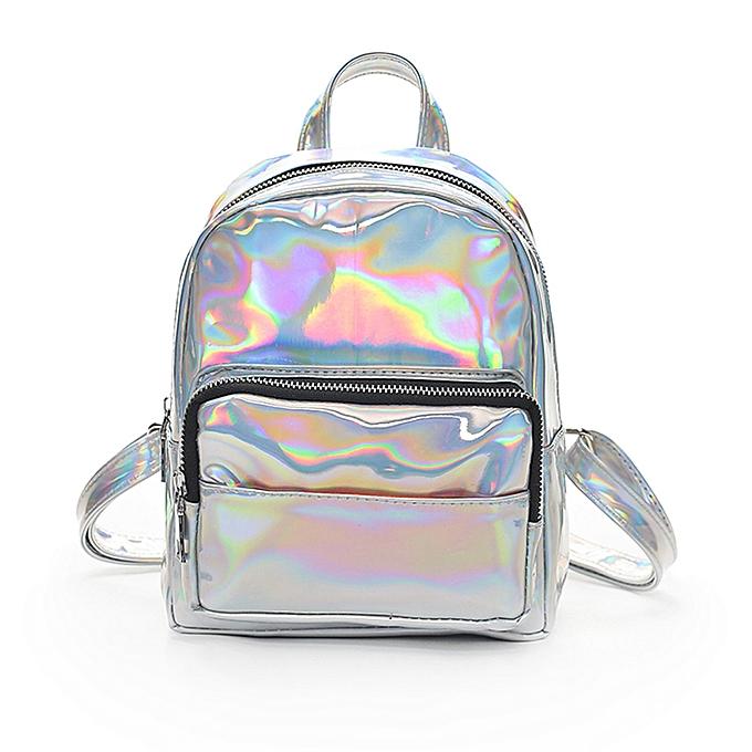 mode Xiuxingzi Girl Laser cuir School sac sac à dos Satchel femmes Trave Shoulder sac à prix pas cher