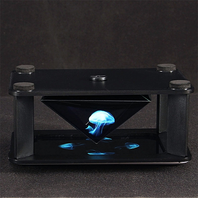 UNIVERSAL Mokiki 360 Degree Virtual 3D Holographic Mobile Phone Box Surrounded- à prix pas cher