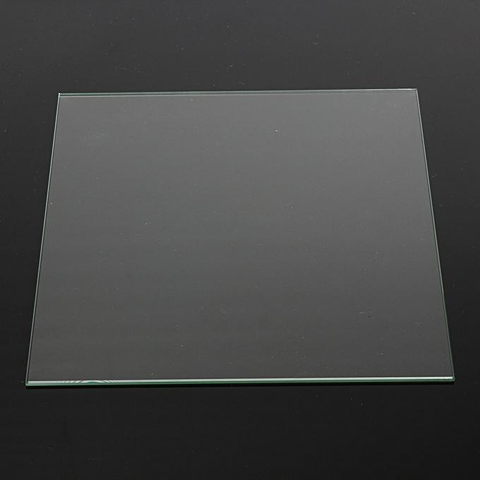 UNIVERSAL MK2 Heat Bed Borsilicate Glass Plate 213x200x3mm Temperouge For Reprap 3D Printer à prix pas cher