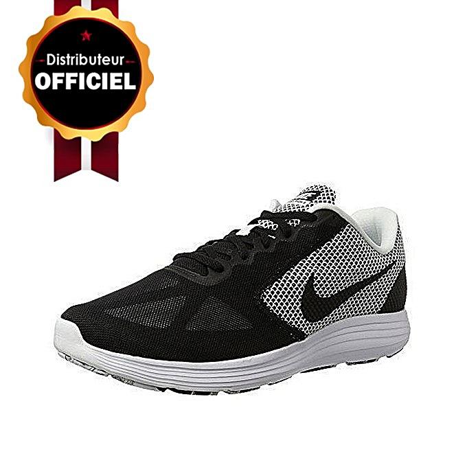 da8181bbb905b Commandez Nike Baskets  Nike Revolution 3 Running Noir à prix pas ...